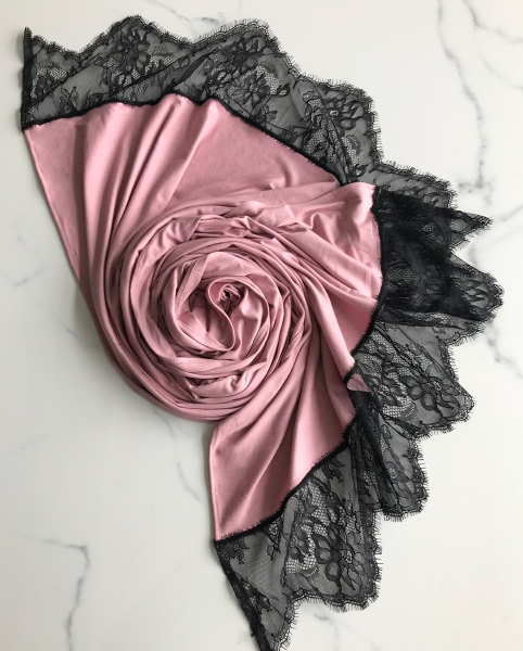 Jersey LACE Rose