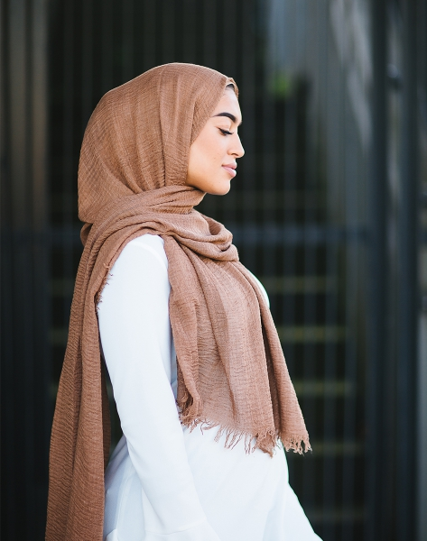 Daily Hijab Cinnamon