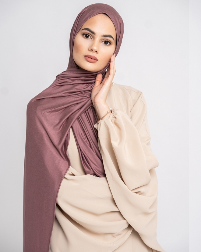 JERSEY LIGHT -mauve-