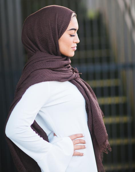 Daily Hijab dark brown