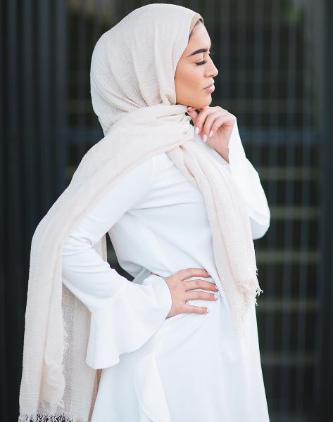 Daily Hijab creme
