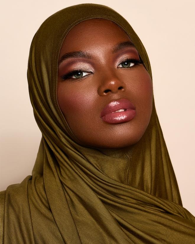 Instant Premium Jersey Hijab Dark Olive