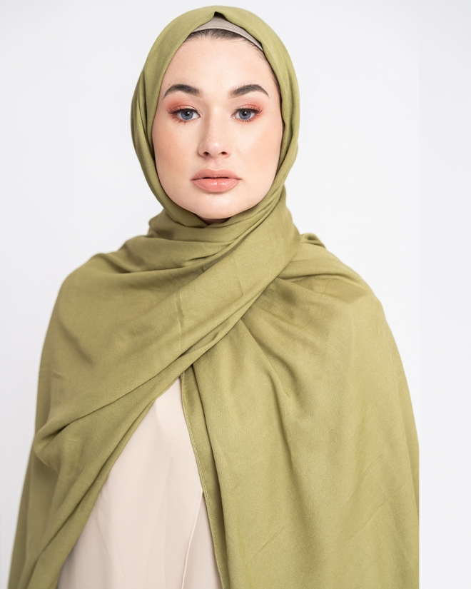 COTTON MODAL HIJAB - TURTLE