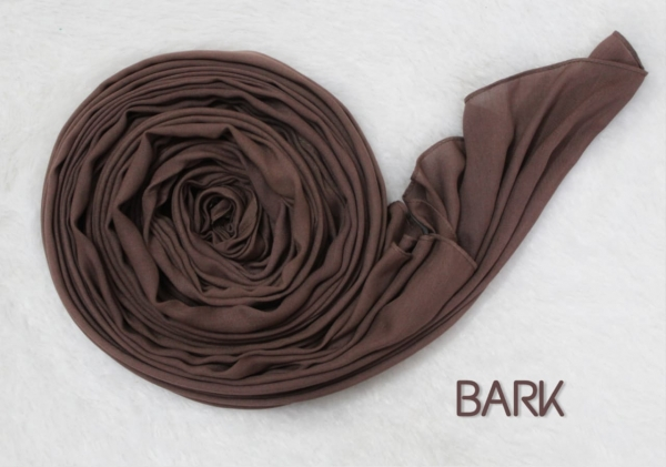 COTTON MODAL HIJAB - BARK