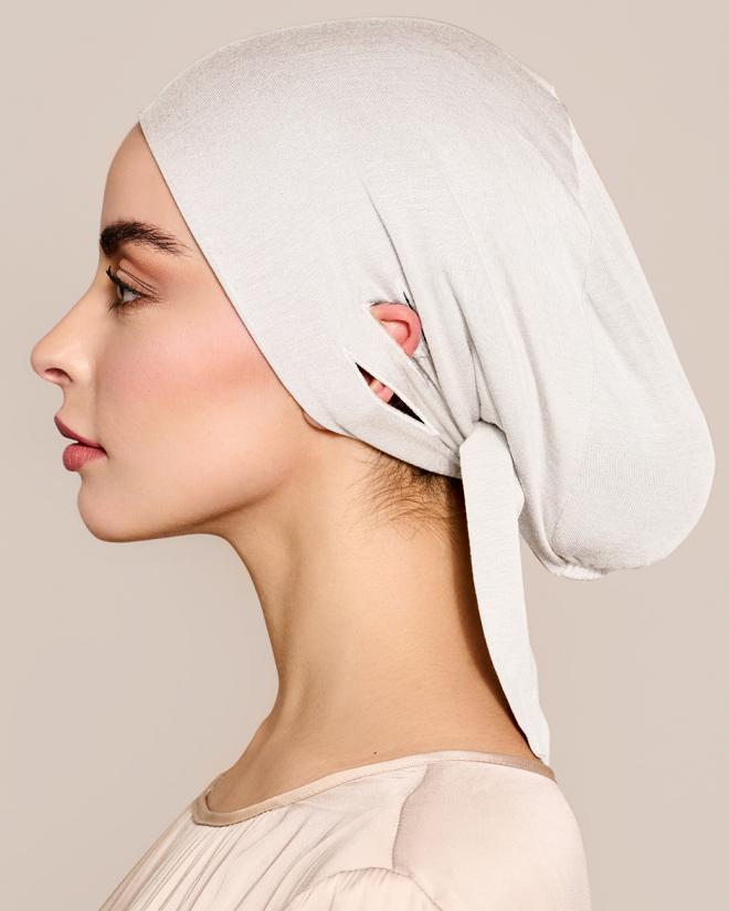 Untertuch Unterkopftuch Hijab Bone White