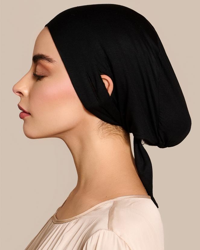 Untertuch Unterkopftuch Hijab Bone Black