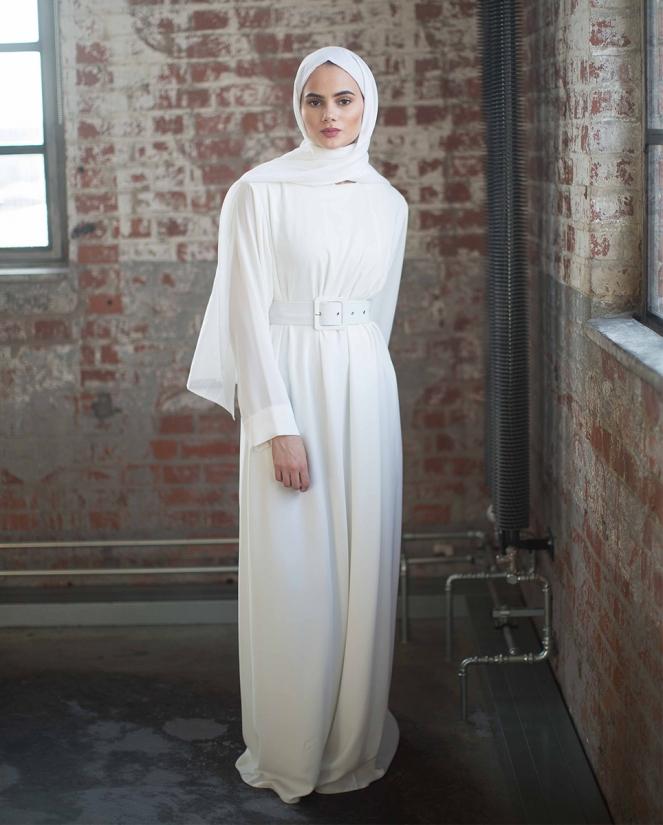 Heaven Dress Off White (OHNE GÜRTEL)