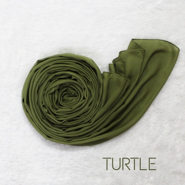 COTTON MODAL HIJAB - FOREST