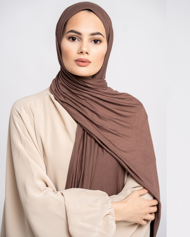 JERSEY LIGHT -mocca brown-