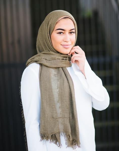 Daily Hijab Khaki