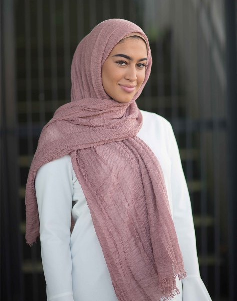 Daily Hijab rouge